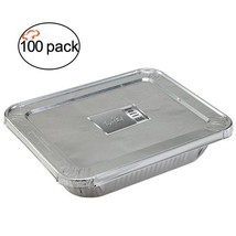 TigerChef TC-20554 Durable Aluminum Oblong Foil Cake Pan Containers with... - ₨6,429.80 INR