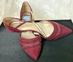 "Anne Klein Women's Shoes Size 8.5M Faux Leather AKFAYME #3034 0617 2.25"" Heels - $34.69"