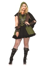 Darling Robin Hood Adult Womens Plus Size Costume size 1x/2x - $35.63