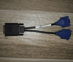 Dell DMS-59 to Dual VGA Female Y-Splitter Cable 0G9438 - $7.50