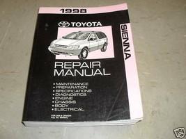 1998 toyota sienna van service shop repair manual factory oem 98 - $58.90