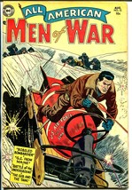 All-American Men of War #12 1954-DC-bobsled bomb cover-WWII stories-FN - $181.88