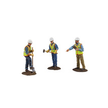 Diecast Metal Construction Figures 3pc Set #2 1/50 by First Gear 90-0481 - $68.32