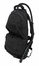 Tactical Scorpion Gear Military 2L Hydration Badger MOLLE Backpack - Black - $36.58