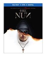 The Nun [Blu-ray + DVD + Digital, 2018] - $15.95