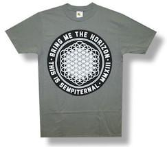 Bring Me The Horizon-Sempiternal-3X  Slim fit-Grey T-shirt - $15.44