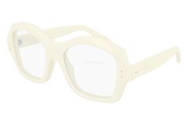 NEW Gucci Sunglasses GG0624S 004 Ivory/Transparent Lens Design 57mm - $261.90