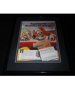 1985 Busch LA Beer Framed 11x14 ORIGINAL Vintage Advertisement - $32.36