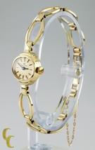 14k Yellow Gold Carl Bucherer Hand-Winding Watch w/ Fancy Link Band - $1,237.50