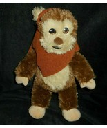 "12"" BUILD A BEAR 2015 STAR WARS BROWN EWOK WICKET STUFFED ANIMAL PLUSH T... - $23.38"