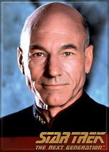 Star Trek: The Next Generation Captain Picard Portrait Magnet, NEW UNUSED - $3.99