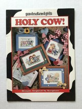 Good Natured Girls Holy Cow  Counted Cross Stitch Patterns Religious - $5.93