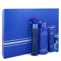 Perry Ellis 360 Very Blue Gift Set - 3.4 Oz Eau De Toilette Spray + .25 Oz Mi... - $42.20