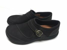 Merrell Womens Size 6 Dassie Buckle Espresso Slip on Leather Shoes J6908... - $49.99
