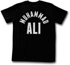 Muhammad Stars Text Boxing Fighting Heavy Weight Champion Black T Shirt S-2Xl - $21.92+