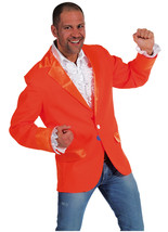 Gents Bright Orange Blazer - Dutch / Entertainers - $31.41