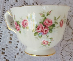 Vintage Aynsley Grotto Rose Tea Cup Fine English Bone China 185 Made in ... - $9.99