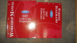 2007 ford low cab forward service workshop manual set oem with wiring di... - $9.84