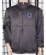 NFL Team Apparel INDIANAPOLIS COLTS Youth XL Gray Full Zip Jacket Coat EUC - $24.18