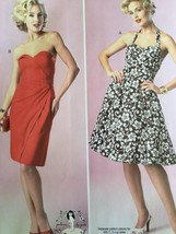 Butterick Sewing Pattern 6019 Misses Ladies Dress Size 12-20 New - $17.43