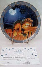 Danbury Mint Garfield Collector Plate What a Night Had to Do Six Encores... - $7.97