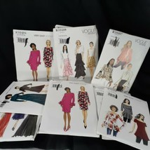 Lot of 16 Vogue Sewing Patterns Uncut Factory Folded In The Original Env... - $55.15