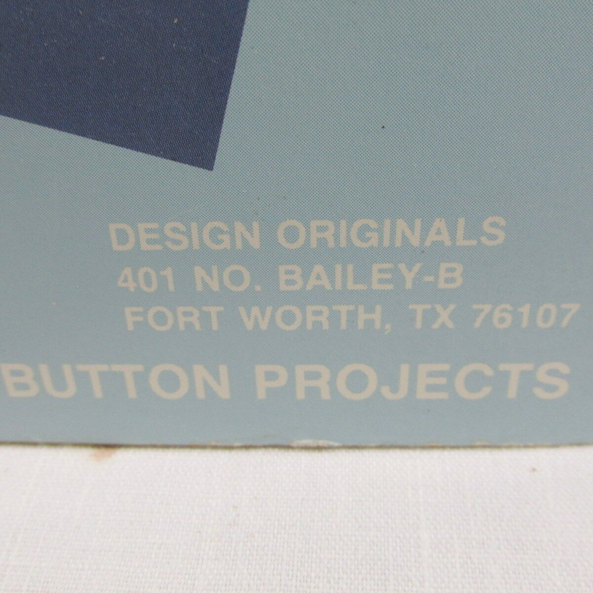 Who's Got the Button 36 Projects New Suzanne McNeill 1988 Original Designs 2034 image 5
