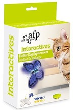 All For Paws AFP Flutter Bug Refill Pack Box Contains 6 Flutter Bugs - $16.11