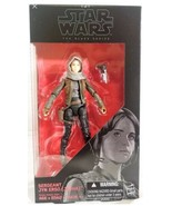"Star Wars Rogue One 6"" Black Series Sergeant Jyn Erso (Jedha) Action Fig... - $8.06"