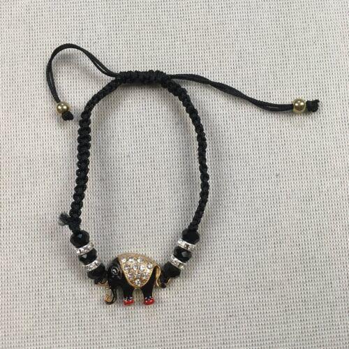 Lucky Elephant Charm Bracelets Weaved Beaded Good Karma Spirituality