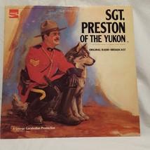 """Sgt Preston of the Yukon Record 33 RPM 12"""" Mark 56  1973 Coca Cola Vintage - $11.99"""