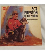 "Sgt Preston of the Yukon Record 33 RPM 12"" Mark 56  1973 Coca Cola Vintage - $11.99"