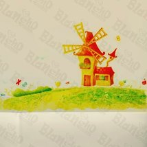 Windmill Country - Wall Decals Stickers Appliques Home Dcor - $10.87