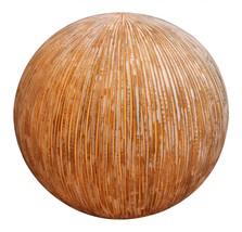 """1"""" x 16"""" x 14"""" Sandstone, Ribbed Finish, Outdoor, Light - Ball - $248.87"""