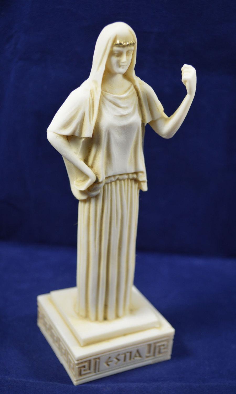 Hestia sculpture statue ancient Greek Goddess of the ...