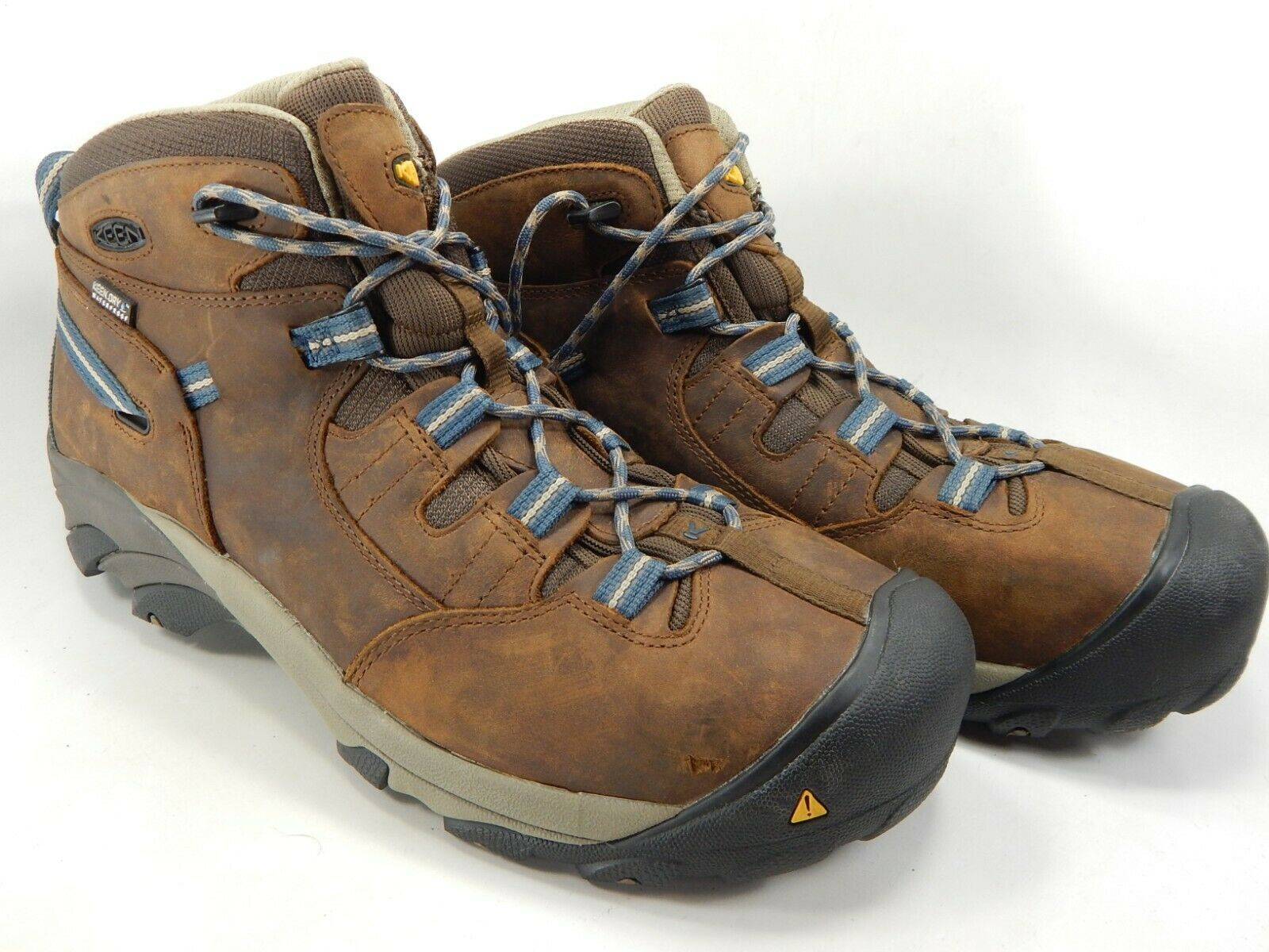 Keen Detroit Mid Size: 13 M (D) EU 47 Men's Steel Toe Work Boots Brown 1007004