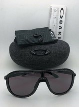 New OAKLEY Sunglasses OUTPACE OO4133-01 Black Ink-Black Frame w/ Warm Grey Lens image 2
