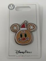 Gingerbread Mickey Icon Head Holidays Christmas 2020 Disney Pin Trading - $19.79