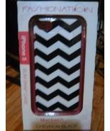 Macbeth Fashion Hardshell case Apple iPhone 5s/5/SE, Rugby Chevron Black... - $10.00