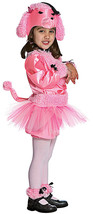 Nw Vintage 8PC Set Prety Pink Poodle Toddler Costume Sz 2-4T S0 Cute Hard 2 Find - $33.66