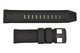Genuine  Luminox Recon II Nav 8840 8830 23mm Black Rubber Watch Band Strap - $81.95