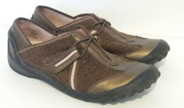 Privo Clarks Casual Brown and Pink Walking Women Sneakers 5 1/2  - $17.33