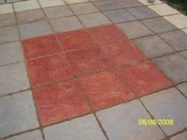Patio Pavers Supply Kit+ 30 Castle Stone Moulds to Make 1000s of Concrete Stones image 7