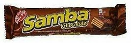 SAMBA CHOCOLATE. The combination of biscuit, chocolate and cream filling. 12 Uni - $39.99