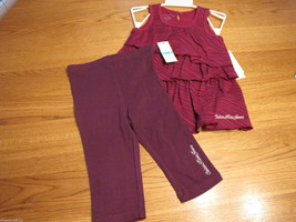 Calvin Klein 24M months Baby girls 2 pc Dress pants leggings 3802098-99T... - $19.05