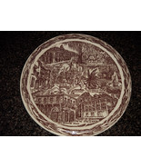 "Hausmann Jewelers Plate New Orleans 10.5"" Vtg Collector Transfer Ware - $9.00"