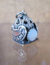 Sterling Silver Bracelet Charm Moroccan MARITIME LANTERN, Nautical Signa... - $54.45