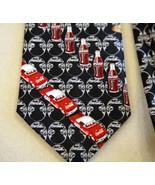 Coca Cola Bottle Novelty Neck Tie Necktie Blue Red Yellow Brown White Ca... - $29.69