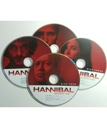 Hannibal  Season 2  Discs 1/2/3/4  DVD  No Box  Movie TV Series - £11.84 GBP