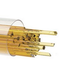 90coe Tested Compatible :: Bullseye 2mm Stringer Medium Amber - $32.62